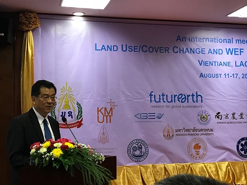 Dr. Phouangpalisack Pavongviengkham, Deputy Minister, Ministry of Agriculture and Forestry, Laos