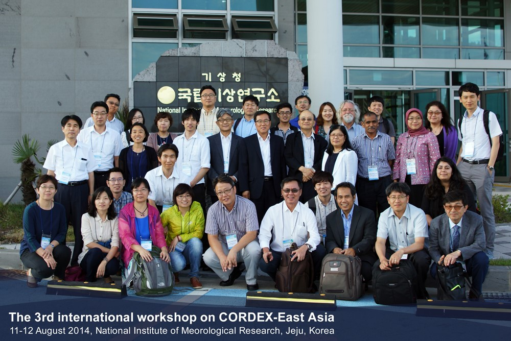 The 3rd  Workshop on CORDEX,2014